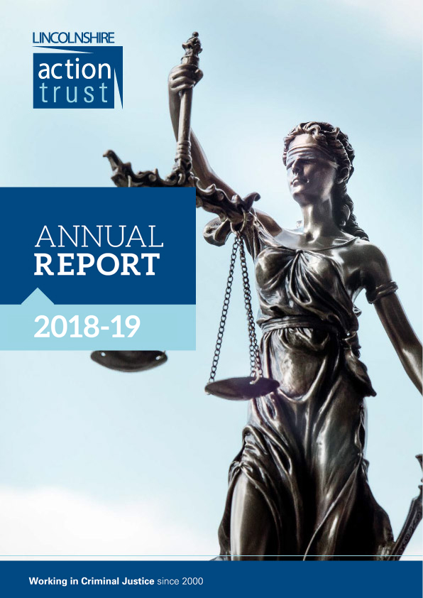 Annual Report front cover 2018-2019